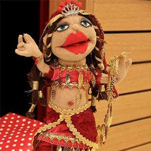 """Puppe aus dem Puppentheater """"bubales"""""""