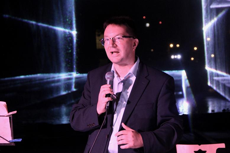 Dr. Michael Blume spricht zu Gemeinde