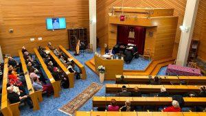 Gemeinde in Synagoge