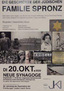 Plakat Familie Spronz