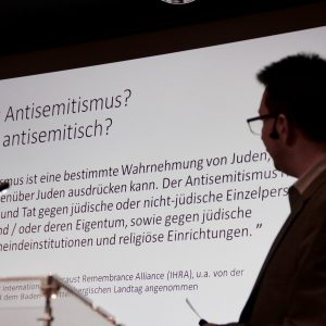 "Fachtag ""Antisemitismus-Prävention"" 15. Januar 2019"